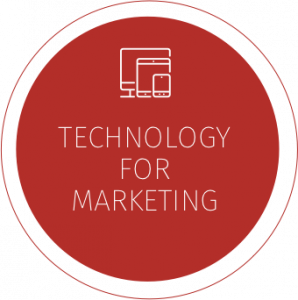 Tech for marketing icon, SEO