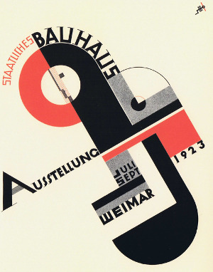 Bauhaus Weimar exhibition Advert
